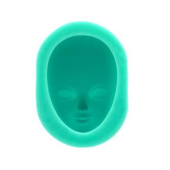 قالب سیلیکونی طرح صورت زن