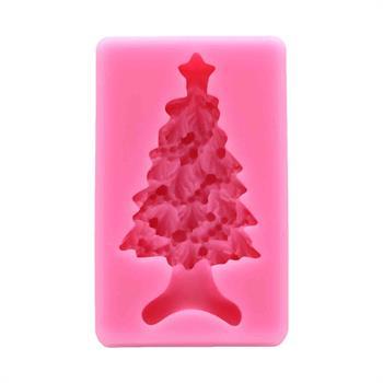 قالب سیلیکونی طرح کاج کریسمس