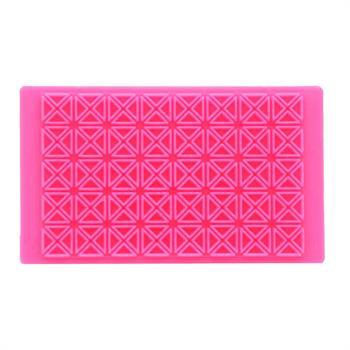 چاپ خمیرطرح مربع ومثلث