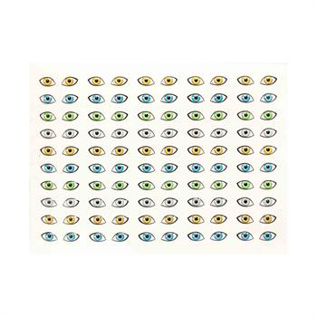 چشم رزینی طرح  13( 10میل )ورقه ای