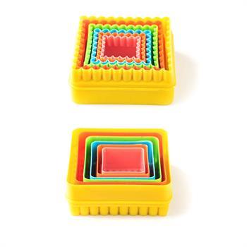 کاترپلاستیکی مربع دوطرفه 5عددی(دالبرو ساده )