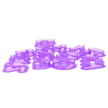 کاتر پلاستیکی حروف طرح1