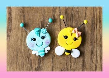 آموزش ساخت زنبور با کاتر و خمیر پلیمری آرتینا