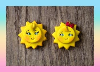 آموزش ساخت خورشید با کاتر و خمیر پلیمری آرتینا